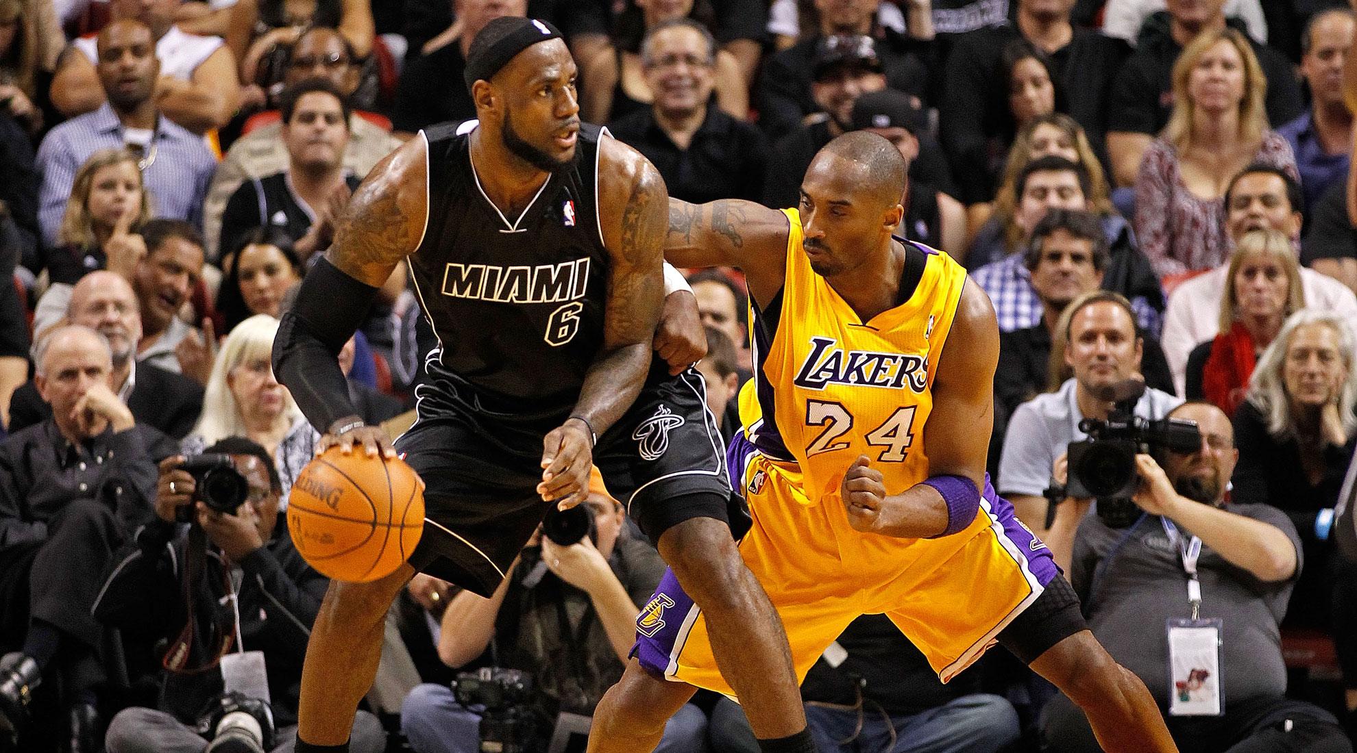 Heat Nation Analysis LeBron James Vs Kobe Bryant Circa 2012