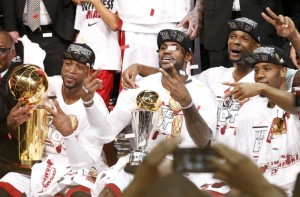 The Miami Heat are back to back champions
