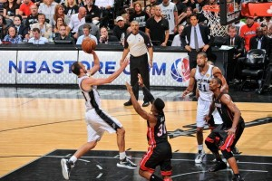 Manu Ginobili's floater against the Miami Heat