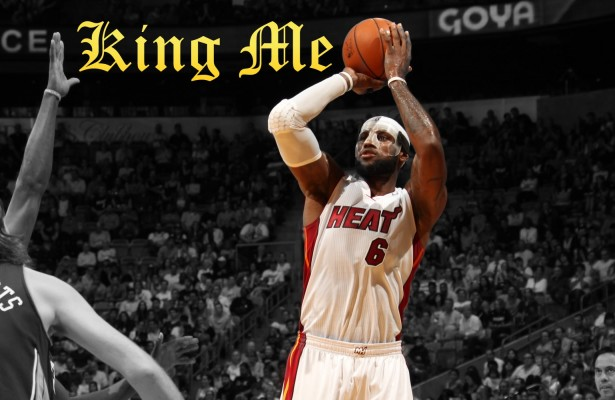 LeBron James 61 Points Wallpaper