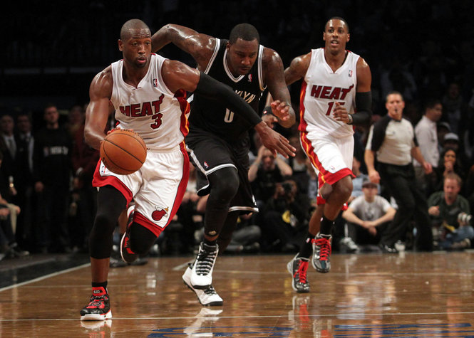 Dwyane Wade vs. Brooklyn Nets