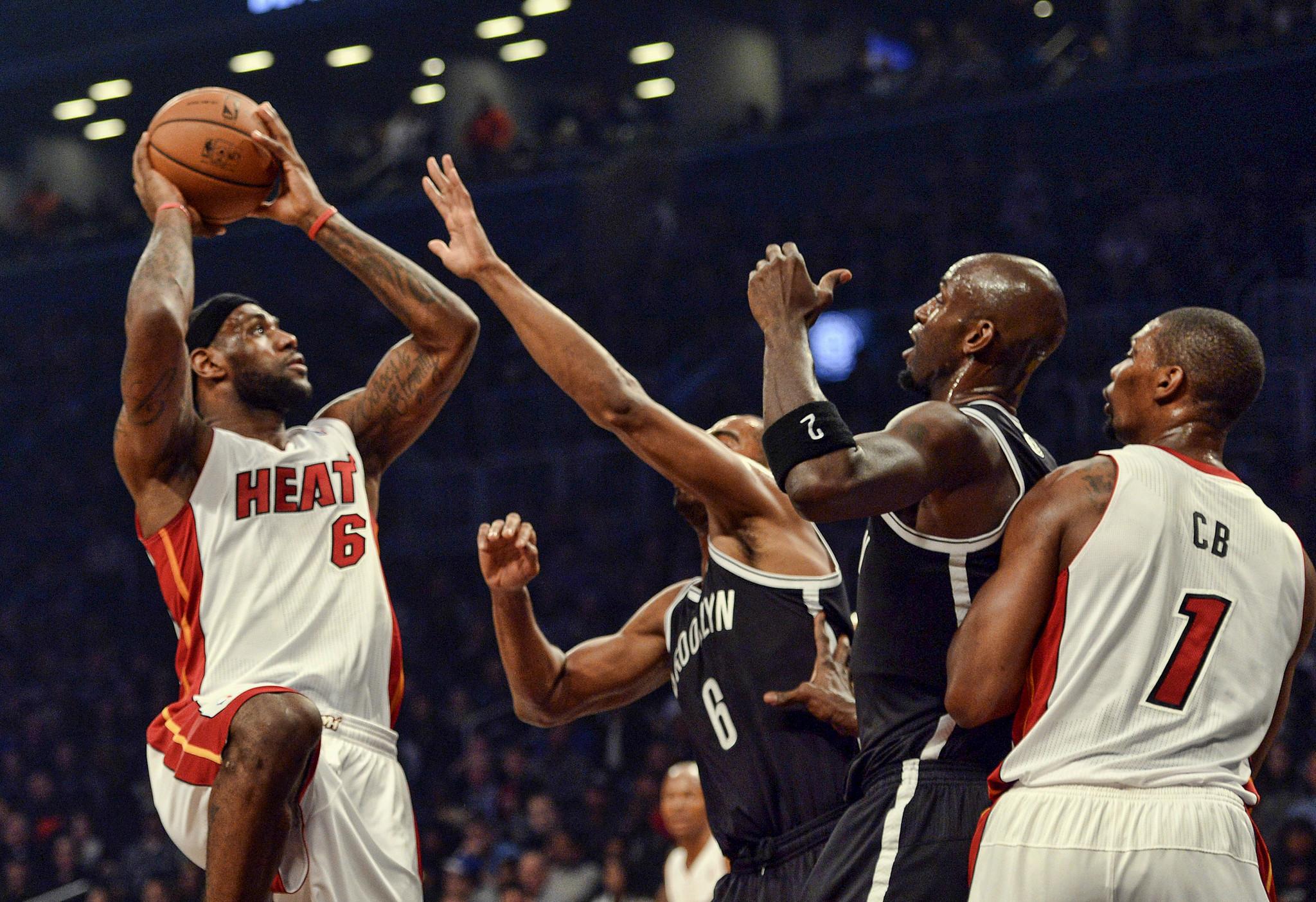LeBron James vs. Brooklyn Nets