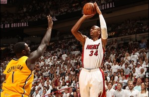 Heat Nation Video: Ray Allen's 4 Three Pointers