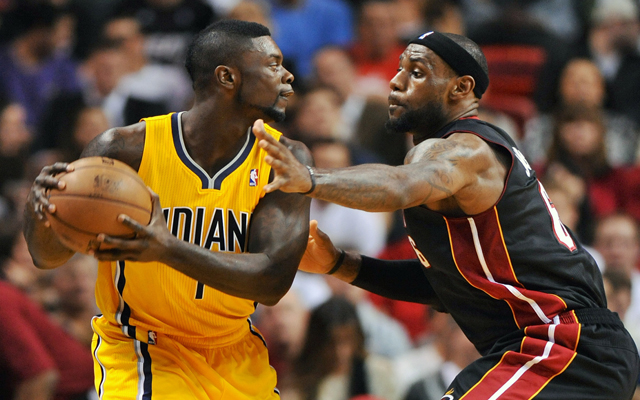 Lance Stephenson against LeBron