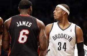 Miami Heat News: LeBron James vs Paul Pierce Rivalry Continues
