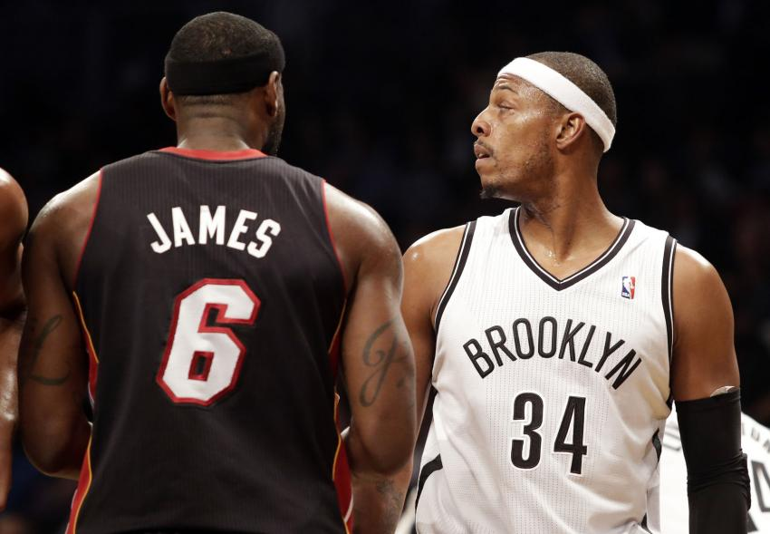 Miami Heat News: LeBron James vs Paul Pierce Rivalry Continues