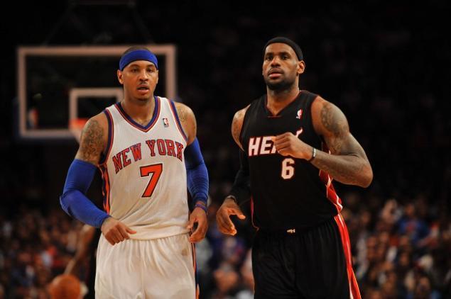 Miami Heat Rumor: Heat Targeting Carmelo Anthony