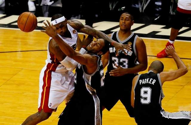 Miami Heat-San Antonio Spurs NBA Finals Game Three Recap: Too Little Too Late