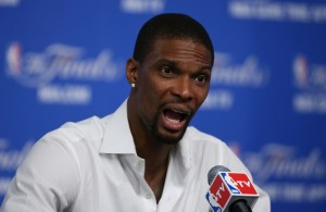 Heat Nation Video: Chris Bosh's Pregame Interview