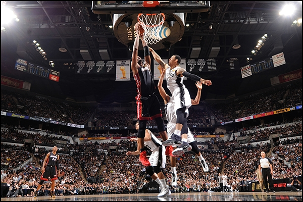 Heat Nation Video: Chris Bosh With the Huge Poster