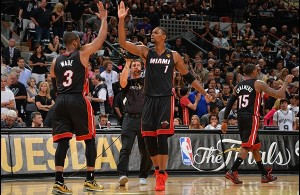 Heat Nation Video: Chris Bosh's Clutch Three Pointer