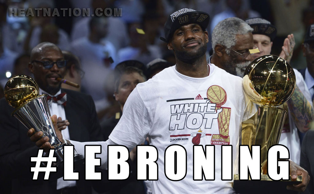 #Lebroning Wallpaper
