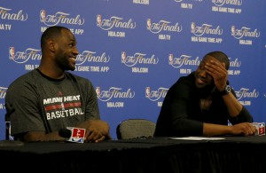Heat Nation Video: LeBron and D. Wade's Hilarious Response to Reporter's Question