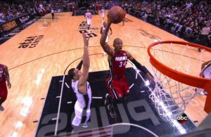 Ray Allen's Huge Dunk on the Fastbreak