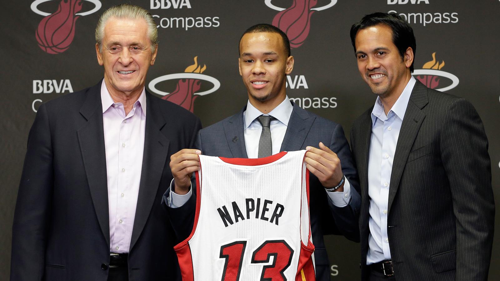 Miami Heat Videos: Shabazz Napier's Introduction to Miami