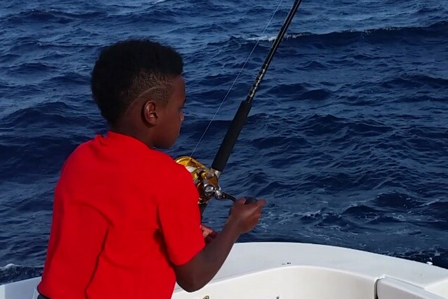 Miami Heat Videos: LeBron Goes HAM When Son Reels in Fish