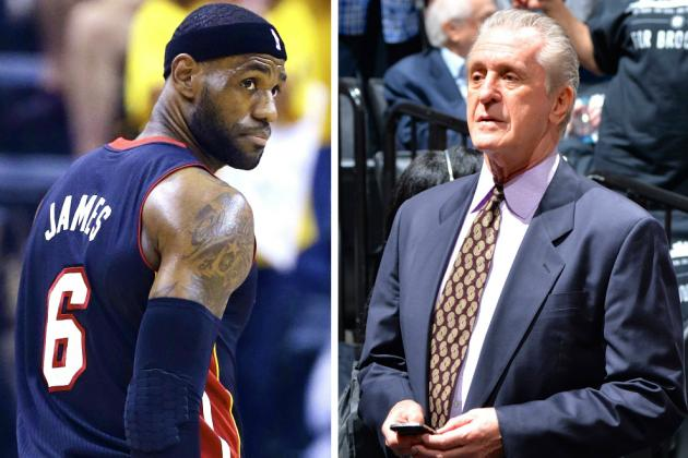 Miami Heat News: LeBron to Meet With Riley This Week