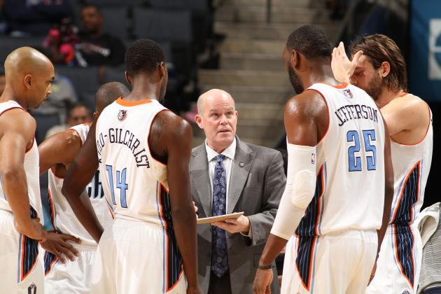 Steve Clifford Coaching the Charlotte Bobcats