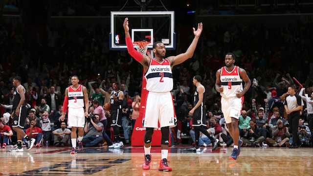 John Wall and the Washington Wizards