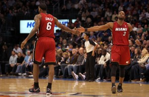 LeBron and D. Wade Still Speak Almost Daily