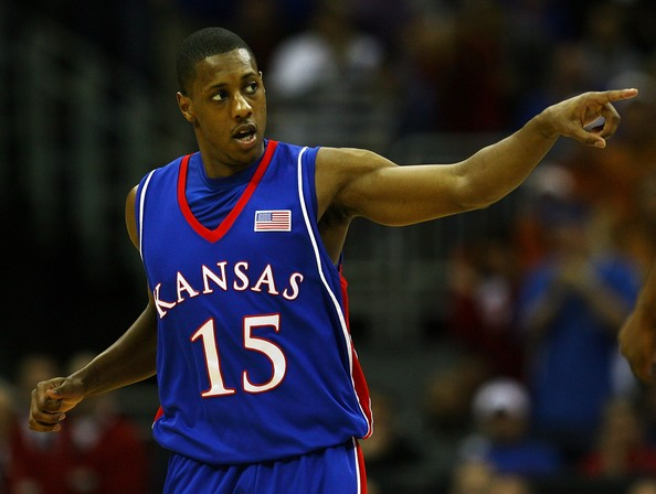Mario Chalmers on Kansas City Jayhawks