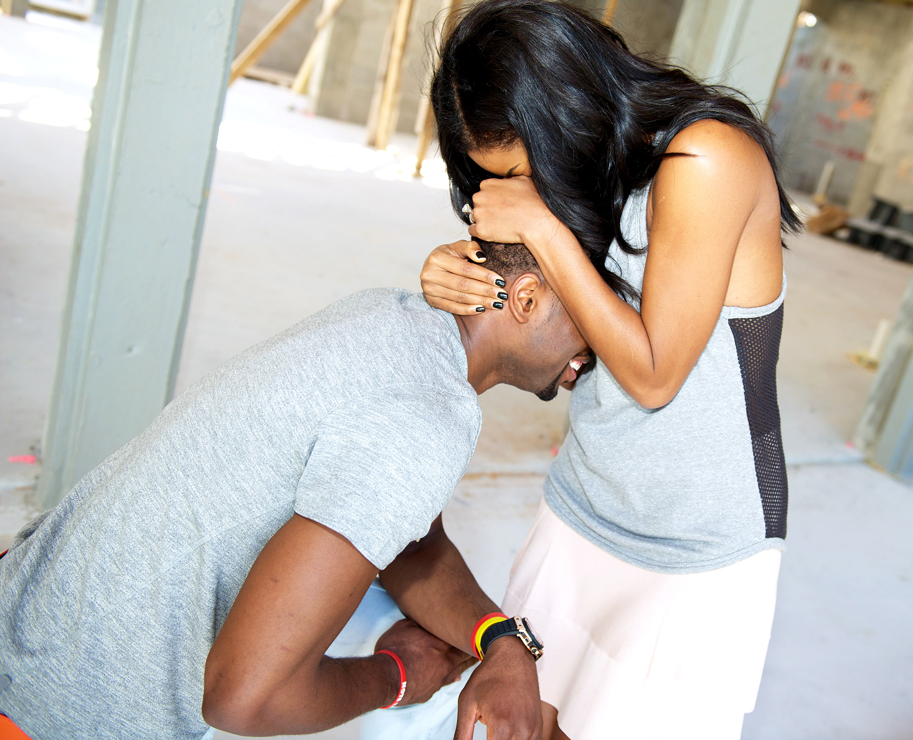 Video: Dwyane Wade Proposes to Gabrielle Union