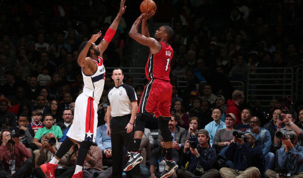 Chris Bosh versus the Washington Wizards