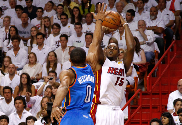 Mario Chalmers Against the Thunder