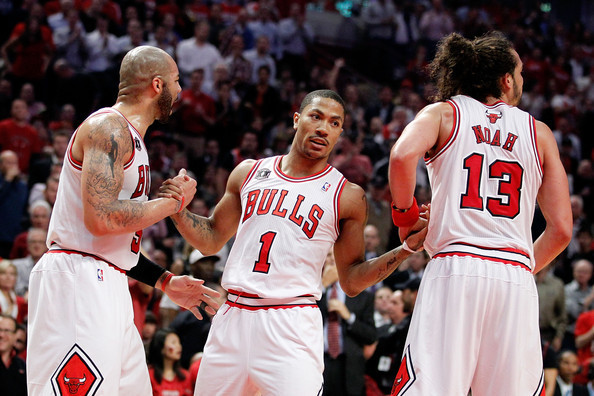 Chicago Bulls Starting Five