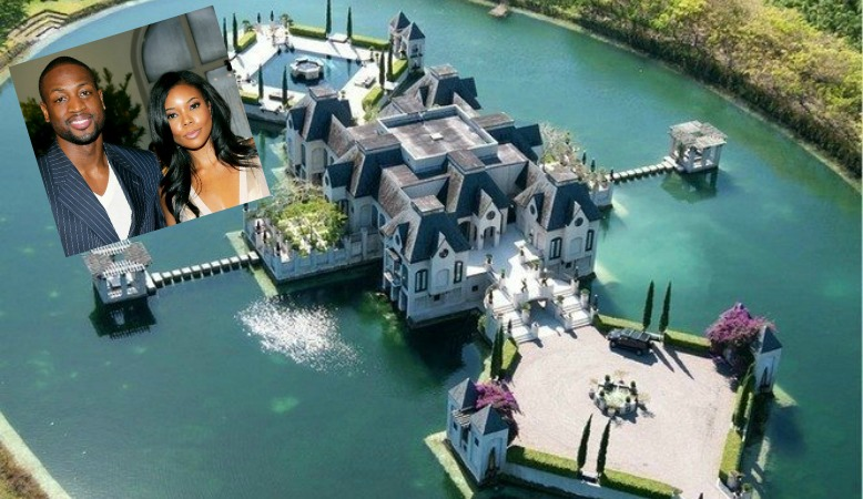 Dwyane Wade's wedding mansion