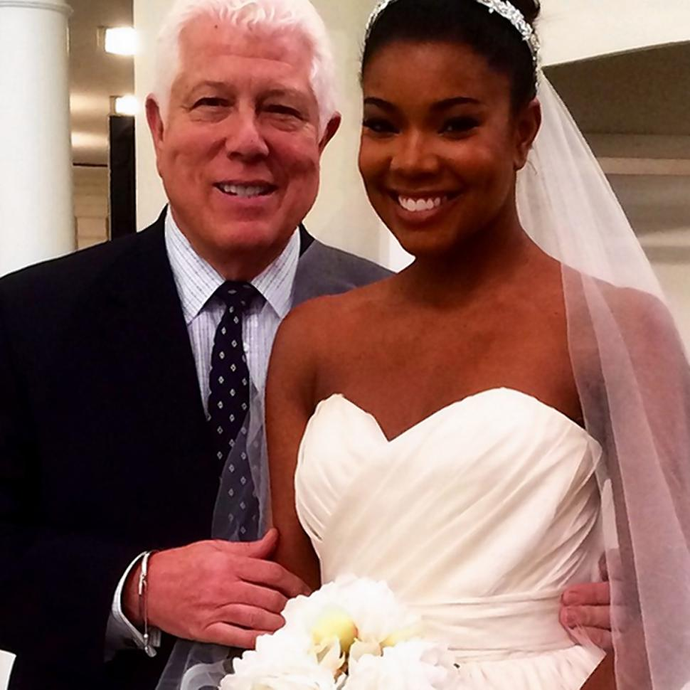 Dwyane Wade's bride Gabrielle Union
