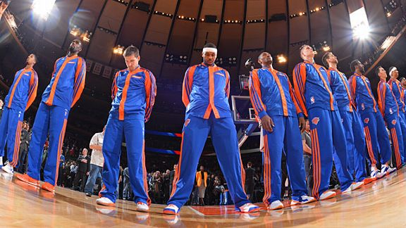 new york knicks pregame