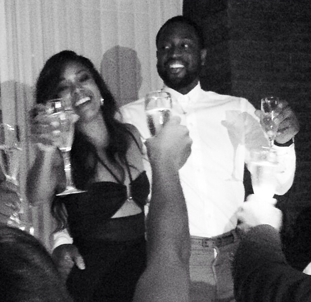 Dwyane Wade and Gabrille Union rehearsal dinner toast