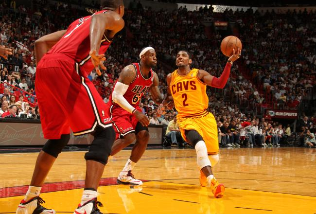 Kyrie Irving vs. Heat