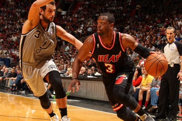 Dwyane Wade against the Spurs