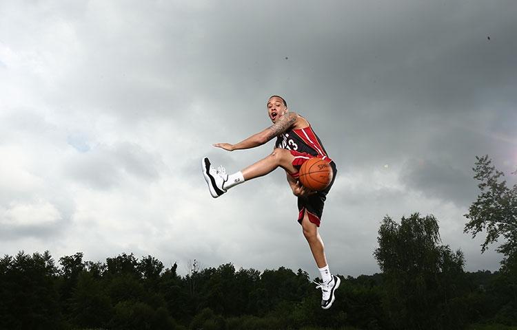 Shabazz Napier 2014 NBA Rookie Photo Shoot