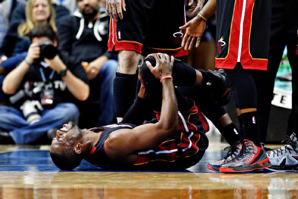 Dwyane Wade's Injured Knee
