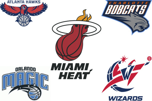 The Southeast division of the NBA
