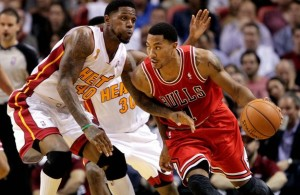 Derrick Rose Against Udonis Haslem