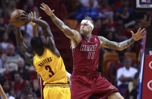 Chris Birdman Andersen Blocks Dion Waiters
