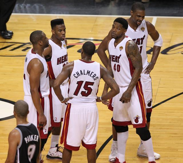 Miami Heat new Starting Five