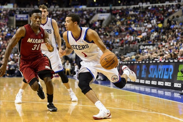 Michael Carter-Williams against Norris Cole