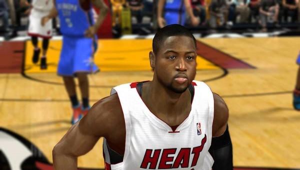 Dwyane Wade NBA 2K15