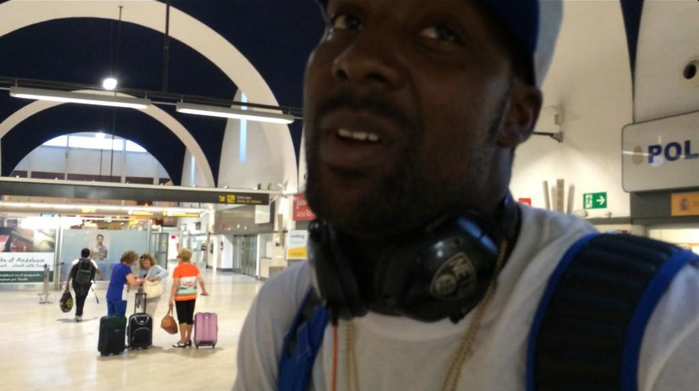 Andray Blatche Airport