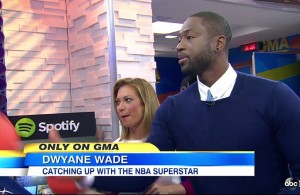 Dwyane Wade on Good Morning America