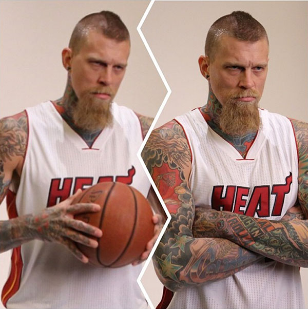 Chris Birdman Andersen Heat Media Day