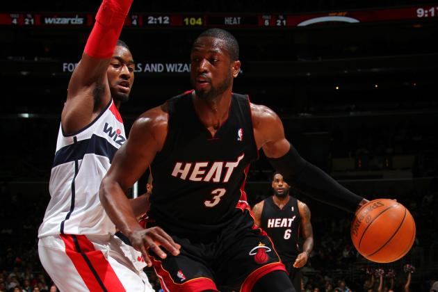 Dwyane Wade vs. John Wall