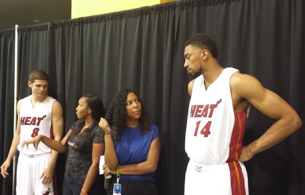 Tyler Johnson and Khem Birch on Heat Media Day