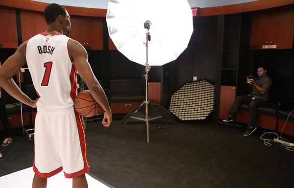 Chris Bosh Heat Media Day
