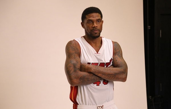 Udonis Haslem on Heat Media Day